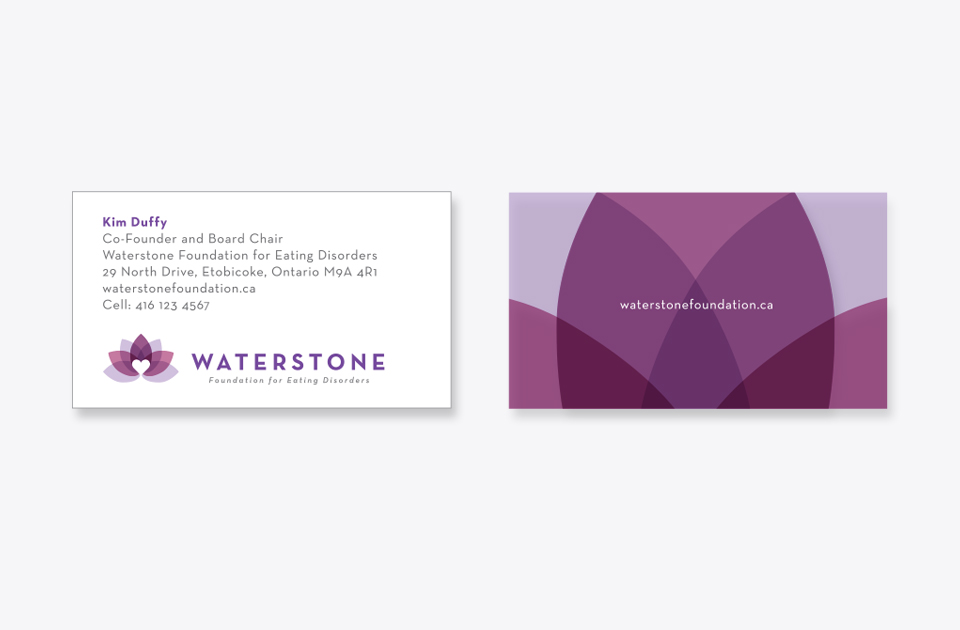 Waterstone business card